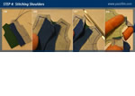 Sewing Jacket - Stitching Shoulders