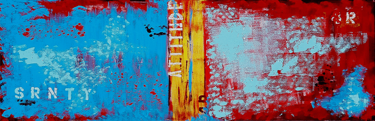 Acrylic on canvas - 50cm x 180cm
